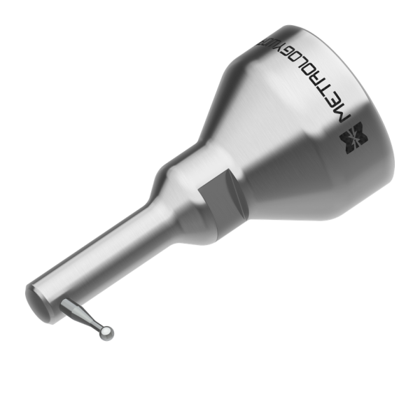"90 Degree 3mm Zircon Ball Probe (1 1/4"" thread) for USB Arms"