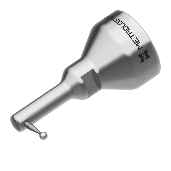 "90 Degree 4mm Zircon Ball Probe (1 1/4"" thread) for USB Arms"